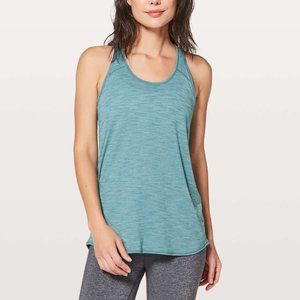 Lululemon Essential Tank Heathered Persian Blue 2